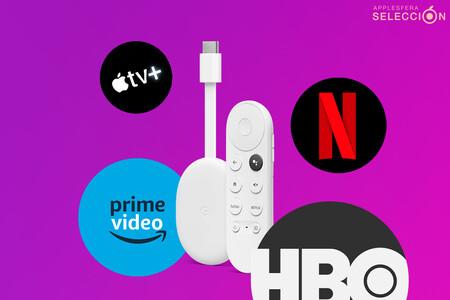 El Chromecast con Google TV se queda a 57,84 euros por los Días sin IVA de MediaMarkt: Apple TV+, Netflix y mucho más