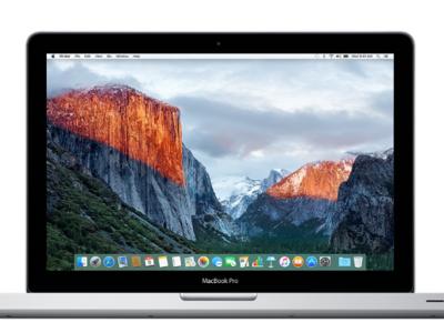 Apple empieza a retirar los MacBook Pro sin pantalla Retina en algunas de sus tiendas de Estados Unidos