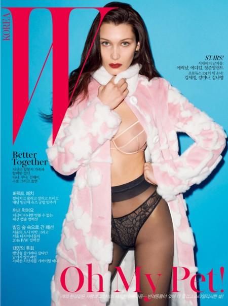 W Korea: Bella Hadid