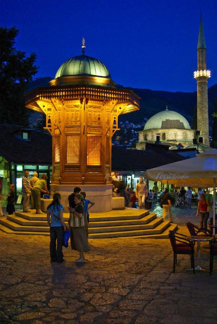 Mezquita de sarajevo