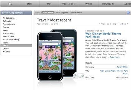 Aplicaciones para el iPhone: Viajes