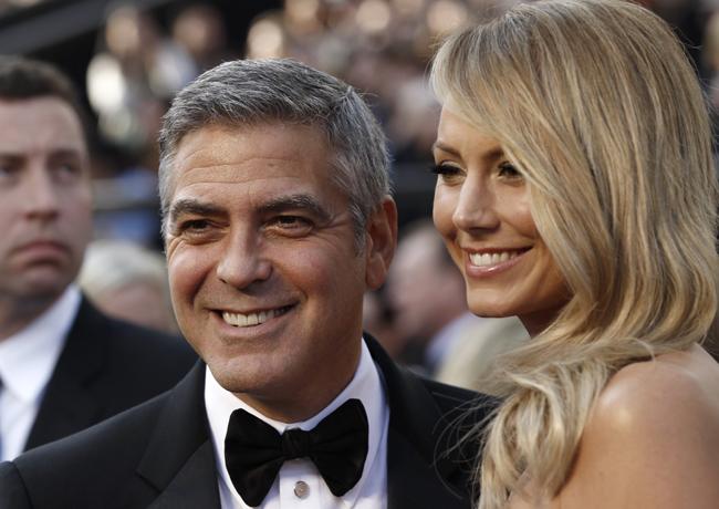 George Clooney Oscar 2012