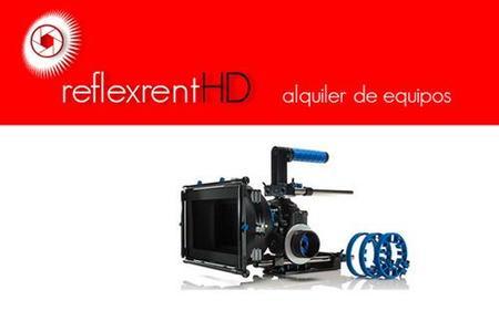 Alquila un equipo de vídeo réflex para tus proyectos