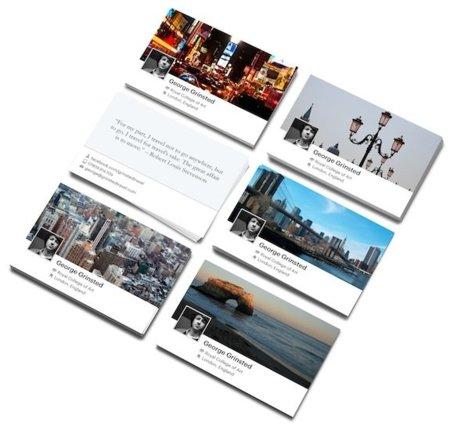 Facebook se alía con MOO Cards para ofrecer tarjetas de visita personalizadas con el nuevo Timeline
