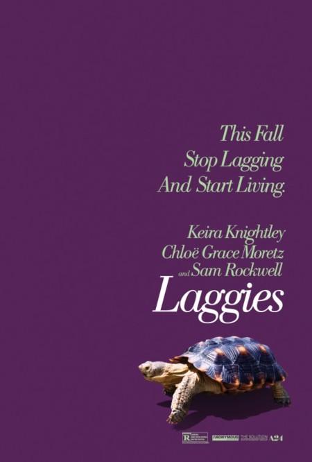 'Say When' (o 'Laggies'), carteles de la comedia con Keira Knightley, Chloë Grace Moretz y Sam Rockwell