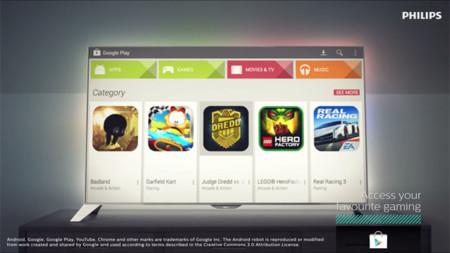 TP Vision anuncia sus primeros televisores Philips con Android y Google Play