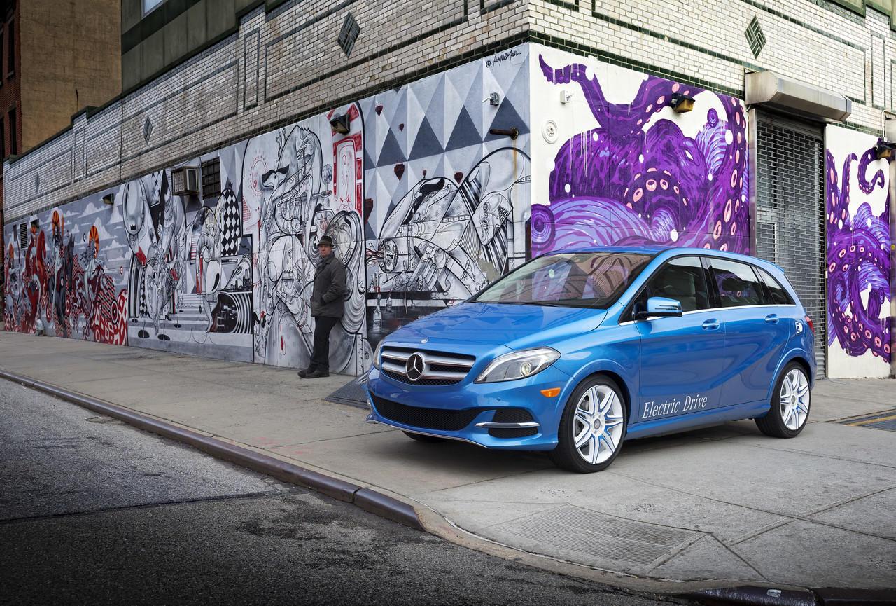 Foto de Mercedes Clase B Electric Drive (25/26)