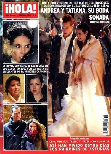 Entre bodas reales, cotilleo y muchas, sobre todo, muchas celebrities