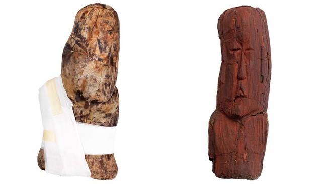"""El INAH recuperó dos piezas arqueológicas más de las 691 que tenía en su poder un """"traficante"""" de Costa Rica"""