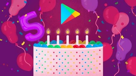 Google Play Store celebra su quinto cumpleaños: esta es la lista de las apps más descargadas