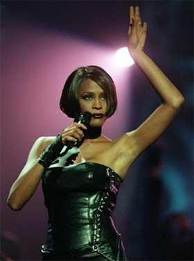 El guardarropa de Whitney Houston a subasta
