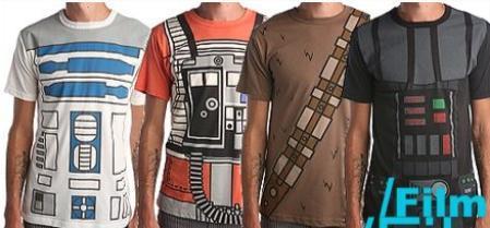 Camisetas de uniforme Star Wars
