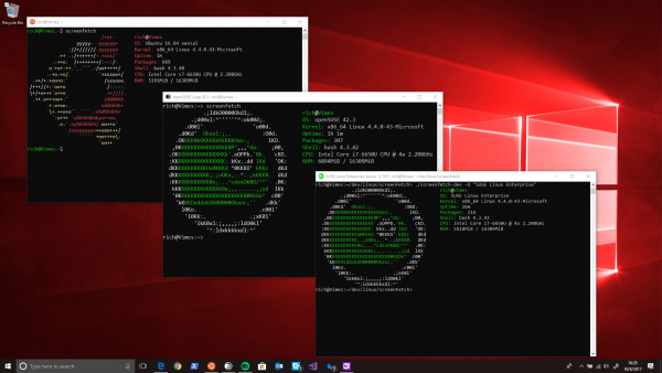 Distros Linux En Windows 10