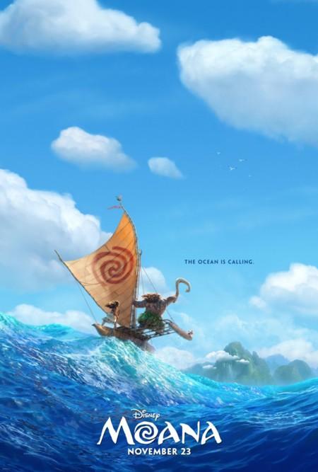 Teaser póster de Moana