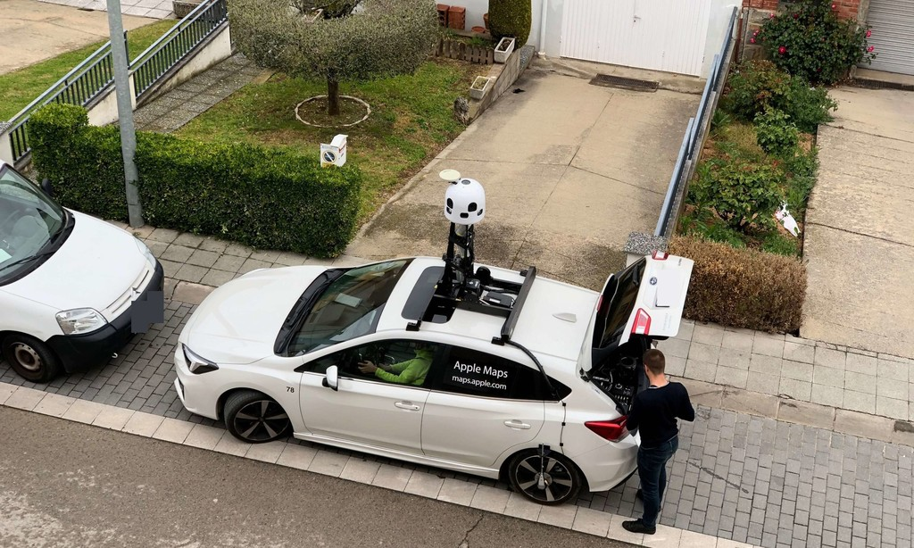 EyeDrive, así es el sistema que Apple usa para recoger los datos de Apple Maps y perfeccionar la conducción autónoma