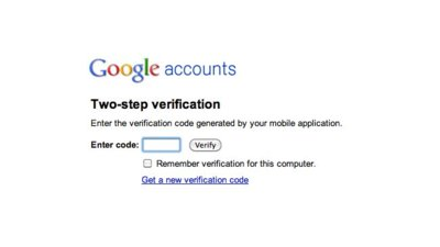 Google empieza a ofrecer un sistema de autenticación en dos pasos