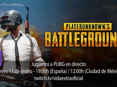 Streaming de Playerunknown's Battlegrounds  a las 19:00h (las 12:00h en CDMX) [Finalizado]