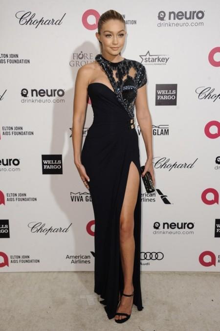 Gigi Hadid en la fiesta de Elton John