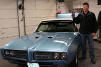 1969 Pontiac GTO controlado con un iPod Touch, ¡y todo artesanal!