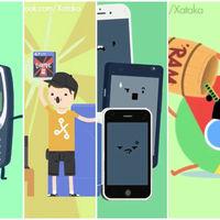 Estas son las 41 mejores animaciones de humor geek que hemos creado en Xataka
