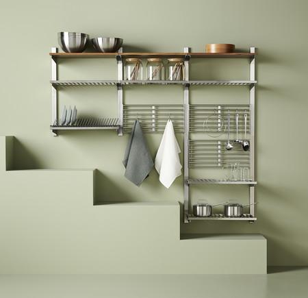Esqueleto ligero para ordenar la cocina Catálogo Ikea 2020