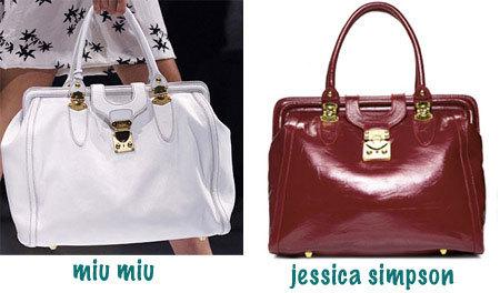 Jessica Simpson y su clon de Miu Miu