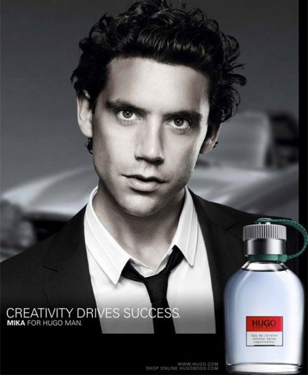 Mika es la nueva imagen de la fragancia masculina de Hugo Boss