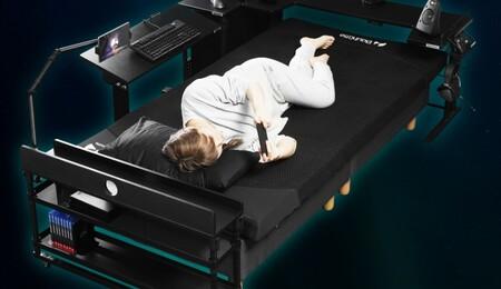 En Japón han diseñado la última locura para que los gamers descansen tras una larga sesión de juego: un colchón