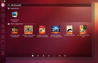 Ubuntu 12.10 incluirá enlaces a productos de Amazon al buscar en Unity