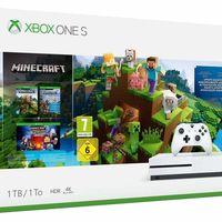 Xbox One S de 1TB, con Minecraft Creator, por 199,99 euros en Fnac