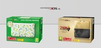 Luigi y Zelda en las nuevas ediciones especiales de Nintendo 3DS XL