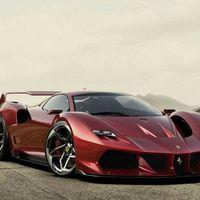 Ferrari F40 Tribute 2019, así podría ser una versión actual del legendario auto, según un fan de la marca