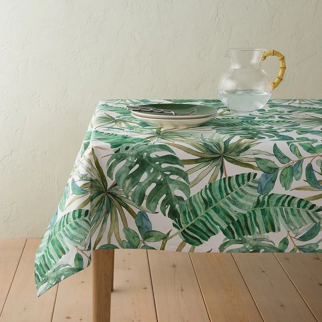 Mantel antimanchas tropical