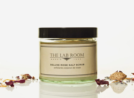 Deluxe Rose Salt Scrub The Lab Room