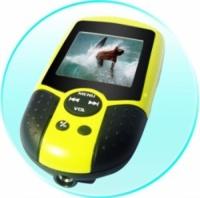Reproductor de vídeo para debajo del agua