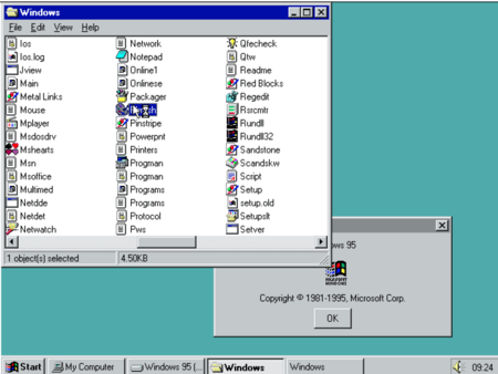 Windows 95 Emulador