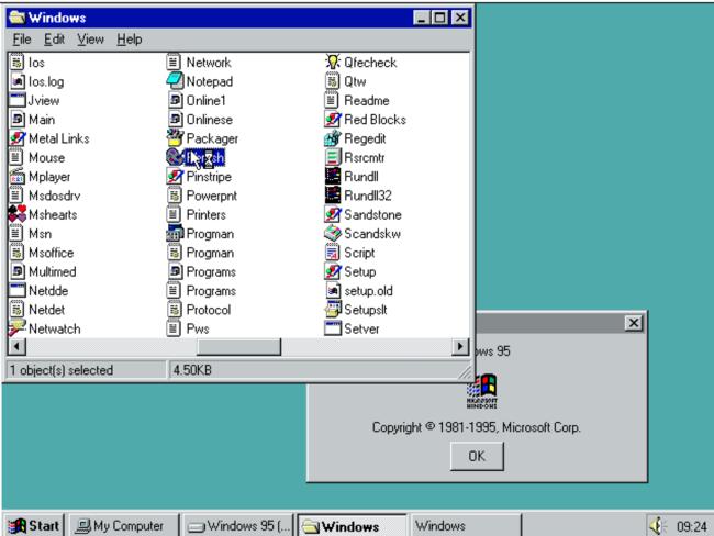 Windows 95 Emulador