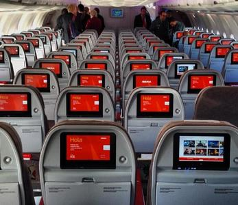 Las empresas aéreas que ofrecen wifi a bordo