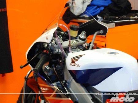 """La Moto3 de Honda """"espiada"""" en el pasado GP de Montmeló"""