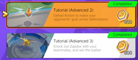 Zapdos y Rotom en Pokémon Unite