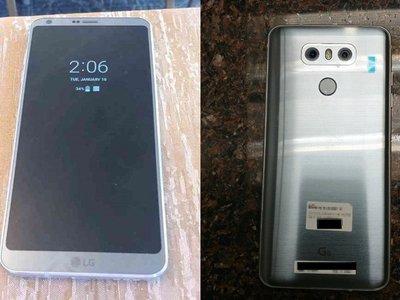 Las filtraciones no paran: aquí otro vistazo al LG G6, ahora mostrando su 'Always-On Display'
