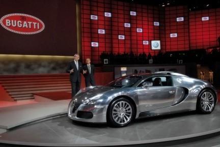 Bugatti Veyron Pur Sang, un pura sangre de los de verdad