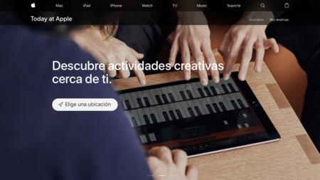 Apple lanza el sitio web oficial de su programa 'Today at Apple'