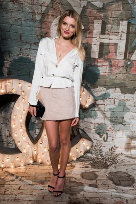 Lily Donaldson Chanel No 5