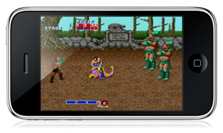 Golden Axe para iPhone / iPod touch, mejorable aunque conserva su magia