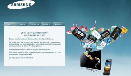 Samsung Apps Dev Challenge, diseña tu aplicación y gana varios premios
