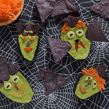 Guacamonstruos, cómo hacer el guacamole más terrorífico (y delicioso) para tu fiesta de Halloween