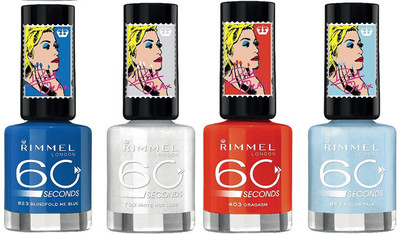 Los nuevos esmaltes y el gloss de Rimmel Color Rush Collection by Rita Ora