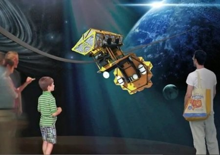 Exposición en Nueva York sobre los viajes espaciales