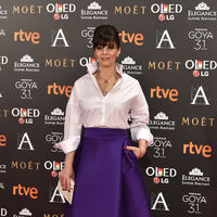 Los Goya 2017 y Ana Álvarez nos demostraron que inspirarse en Rania de Jornadia no siempre tiene el acierto garantizado